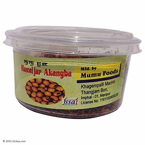 GISKAA Hawaijar Akangba Plain Veg Fermented Dry Soya Bean (250 g)
