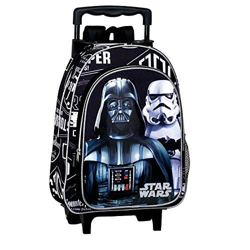 Star Wars - Sac à dos à roulettes maternelle Star Wars Shadow 37 CM trolley - Cartable
