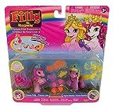 Filly Dracco Pferdchen Royal Spiel- und Sammelfiguren 2er-Set für Kinder, Mädchen (Princess Pretty + Princess Romantica)