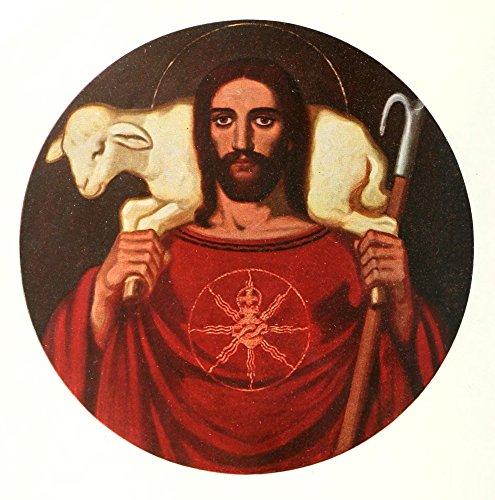 tliche Kunst 8 1911 Herz Jesu Kunstdruck (60,96 x 91,44 cm) (Herz-printable)