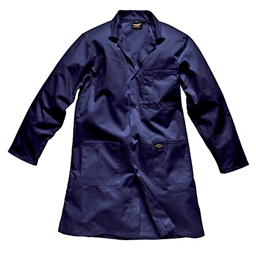 Dickies Mens Redhawk Workwear Warehouse Coat Jacket White Navy,S,M,L,XL,XXL Navy