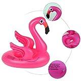 Schwimmring,Flamingo Baby Sitzring Baby Schwimmreifen & Schwimmsitz für Reise, Pool & Freibad für Säuglinge & Kleinkinder 65 * 45cm