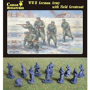 Unbekannt Caesar Miniatures H069-Figura WWII German Army with Field Greatcoat