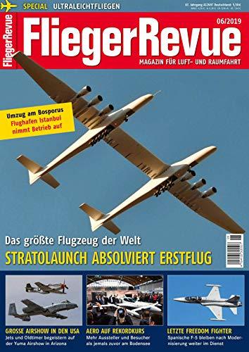 Größte Flugzeug der Welt Stratolaunch Erstflug / Speciel Ultraleicht Fliegen / Airshow USA