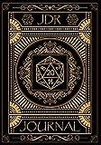 JDR Journal: Carnet de Jeux De Rôle pour Maître du jeu   RPG Game Master   Carnet pour noter vos Plans, Armes, Stratégies   Idée de cadeau   150 pages 17,78 cm x 25,4 cm Coloris Noir