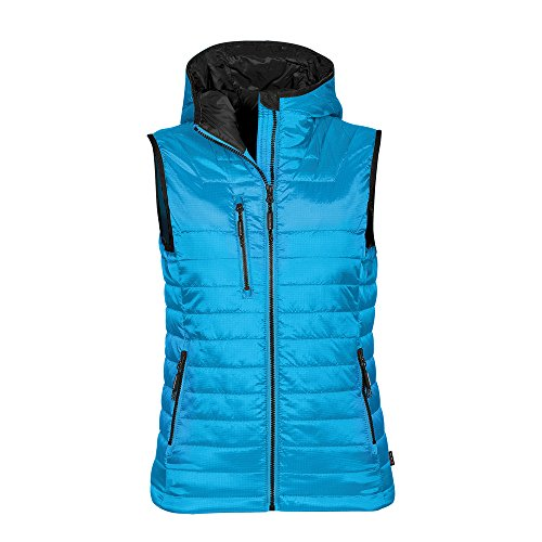 Stormtech Womens gravity thermal vest Electric Blue/ Black