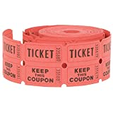 Double Roll of Raffle Tickets, 500ct (Farben Mai Vary)