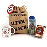 Lustapotheke® Geschenkset - Verkehrszeichen - zum 50. Geburtstag (5-teilig)