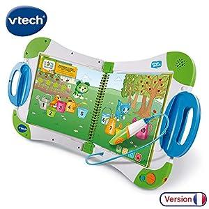 VTech - Sistema de Aprendizaje Interactivo, MagiBook, Color Verde, versión Francesa