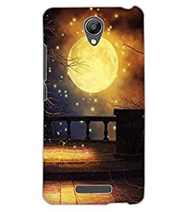 ColourCraft Lovely Moon Design Back Case Cover for XIAOMI REDMI NOTE 2