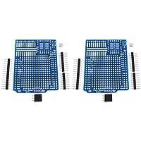 2 uds. Proto Shield Arduino UNO Leonardo Prototyping with Headers, DIY Kit #1191