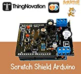 Arduino Scratch Programming S4A Shield Ideal for Learning Robotics. Kids, Parents and Students