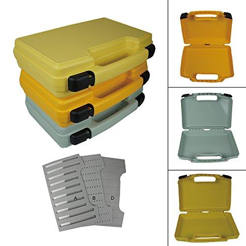 aventik Streamer Fly Box Super Large Fly Box, 35,6x 27,9x 8,5cm 360x 260x 85in drei Farben mit drei verschiedenen Schaum Fly Angeln Boot Angeln, Olivine