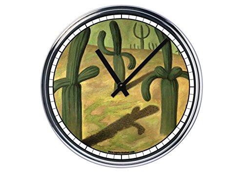 Reloj de Partete de acero Frida KALHO Cactus