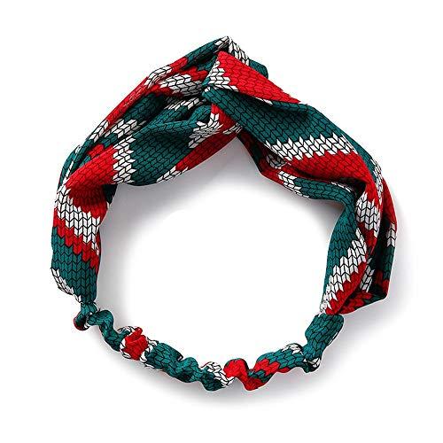 XCLLQ Stirnband Erwachsene Dame Stretch-Haar-Accessoires Stirnband Mode Niedlichen Kopfschmuck Für Yoga, Gehen Sie Für Einen Spaziergang Als Geschenk, B (Niedlichen Haar-accessoires)