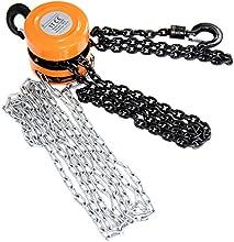 Timbertech - Polipasto manual de cadena para una carga máxima de 1 tonelada
