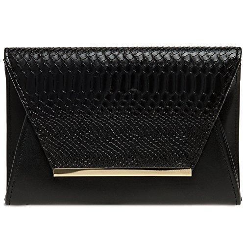 CASPAR Fashion, Poschette giorno donna Nero
