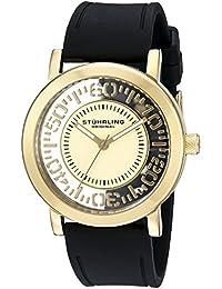Stuhrling Original Reloj de cuarzo Man 830.02 Negro 42.0 mm