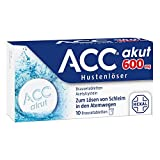 ACC akut 600 mg Hustenlöser, 10 St. Brausetabletten