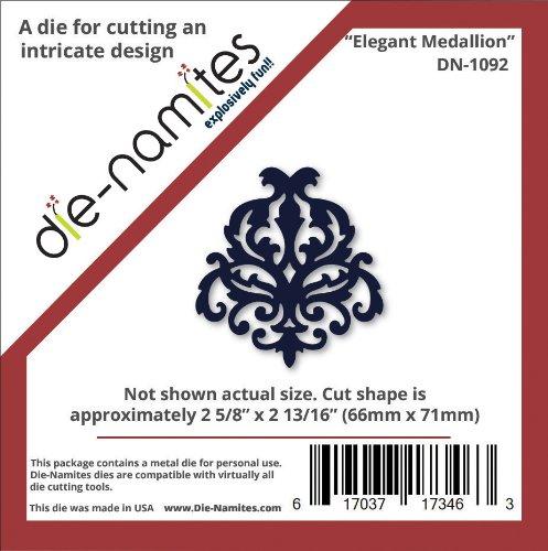 die-namites Elegant Medallion, 2.625