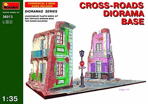Unbekannt MiniArt 36013 - Kreuzung mit Diorama Grundplatte