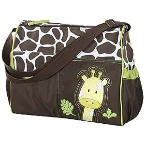 Accessotech, borsa a tracolla per il cambio pannolino, impermeabile, con tappetino da viaggio