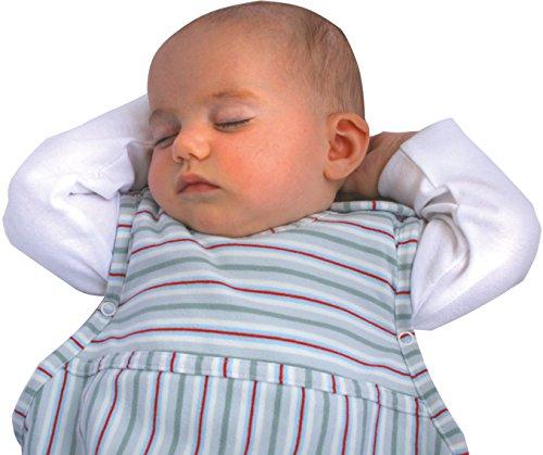 Merino Kids Schlafsack aus organischer Baumwolle für Kinder, 2-4 Jahre, Moosgrün (Kleinkind-bett Auf Der Go)