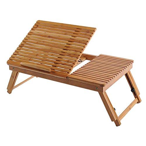 He Ping Yuan Notebookständer Klapptisch - College-Studenten-Schlafplatz Klapptisch Bambus Tisch Laptop-Tisch (53x32x21cm) @@