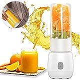 Smoothie Maker Mixer, Multifunctional 6 Edelstahlmesser Mini Blender Mixer Hochleistungsmixer für Shakes und Smoothies kleine Smothie-maker USB wiederaufladbare Mini Blender (FDA und BPA frei)