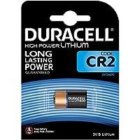 Duracell - Batterie Lithium spéciale appareils photo - CR2 B1 Ultra x1 (equivalent CR17355, ELCR2CR2, KCR2, CR2B)