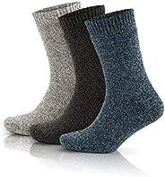 GoWith 3'lü Norveç Tipi Yünlü Tam Havlulu Güçlendirilmiş Termal Kadın Çorap Seti 2038