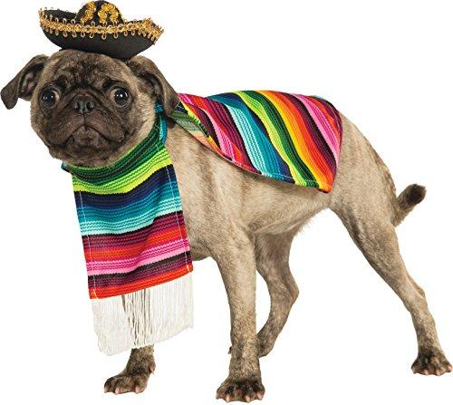 Rubie's Offizielles Hund-Kostüm, mexikanische Sarape, große Größe