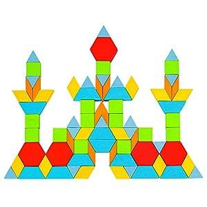 GOKI- Puzzles 3DPuzzles 3DGOKIPuzzle, Formas geométricas, Geo, Multicolor (1)
