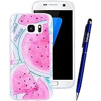 Yokata Samsung Galaxy S7 Hülle Glitzer Weiche Silikon Handyhülle Schutzhülle TPU Handy Tasche Schale Etui Weich... preisvergleich bei billige-tabletten.eu