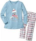LUPILU® Kinder Mädchen Pyjama