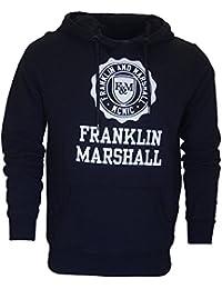 9b44df000d47 Franklin   Marshall - Sweat-Shirt à Capuche - Homme Noir Noir