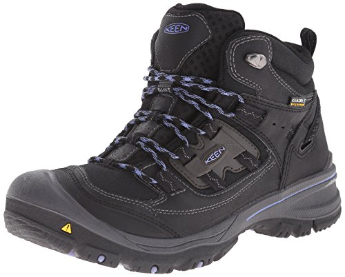 KEEN Logan Mid WP W chaussures hiking Black Periwinkle