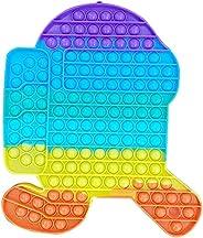 HICITI 400 Bubbles Fidget Toy ,Big Pop it , Fidget Toys, Push pop Bubble Fidget Toy, Fidget Toys Set , Autism