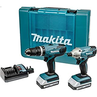 MAKITA 18V CORDLESS LI-ION TWIN PACK COMPLETE KIT X2 BATTERIES & 1 HOUR RAPID CHARGER EXCLUSIVE ONLINE DEAL BY HOLYWELL TOOLS
