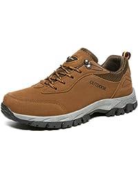 ffe81a3a01249 NEOKER Scarpe da Trekking Uomo Donna Arrampicata Sportive All aperto  Escursionismo Sneakers Army Green Blu