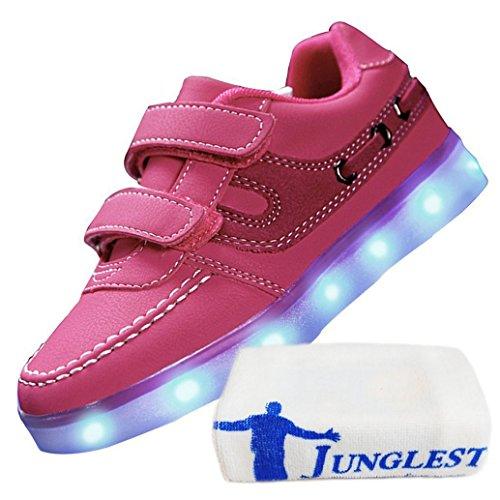 kleines Star Frauen Luminous Flagge Led Handtuch Glow Usb junglest® Unisex Freizeitschuhe American Männer Leuchten Lade C9 Schuhe present UqCBdwC