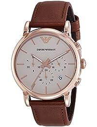 Emporio Armani Chronograph Off-White Dial Men's Watch-AR2074I