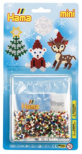 Hama 10.5514 Mini Beads Father Christmas Set