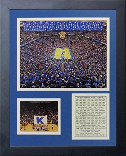 Rupp Arena (Legenden Sterben Nie Kentucky Wildcats Rupp Arena Foto Collage Rahmen, 27,9x 35,6cm)