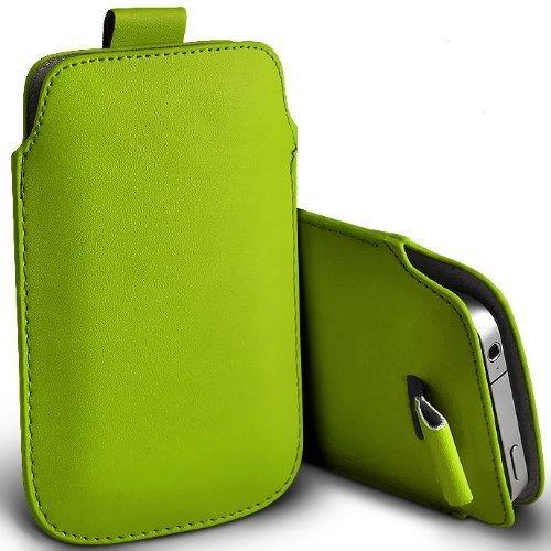 Preisvergleich Produktbild C63 ®-Apple Iphone 3GS,  PU-Leder,  Klappetui mit Zuglasche,  Grün