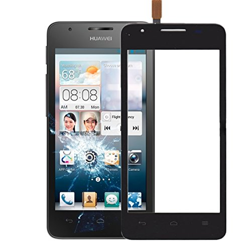 HAOXIONGMAOYI UK Schermo LCD Touch Screen Parte di Ricambio per Telefono Cellulare IPartsDisplay Touch Screen per Huawei Ascend G510 / U8951 / T8951 (Colore : Nero)