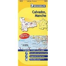 Michelin Local France: Calvados, Manche