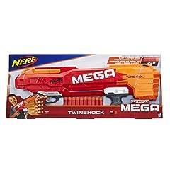 Idea Regalo - Hasbro Nerf - Mega Twinshock, B9894EU4