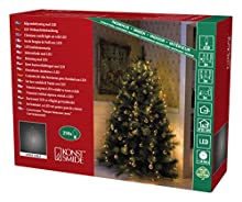 Konstsmide 6362-820 Voile pour Arbre à LED avec Anneau, Plastique, 6 W, Or