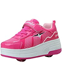 Garçons filles chaussures de sport chaussures pour enfants chaussures à roulettes patins adultes